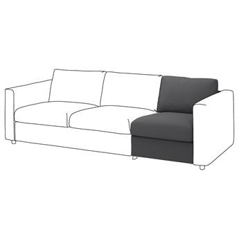 IKEA VIMLE Sekcja 1-osobowa, Hallarp szary, Głębokość: 98 cm