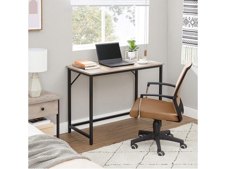Bettso Eleganckie biurko w stylu industrialnym Drewno Głębokość 50 cm Szerokość 100 cm Metal Kategoria Biurka