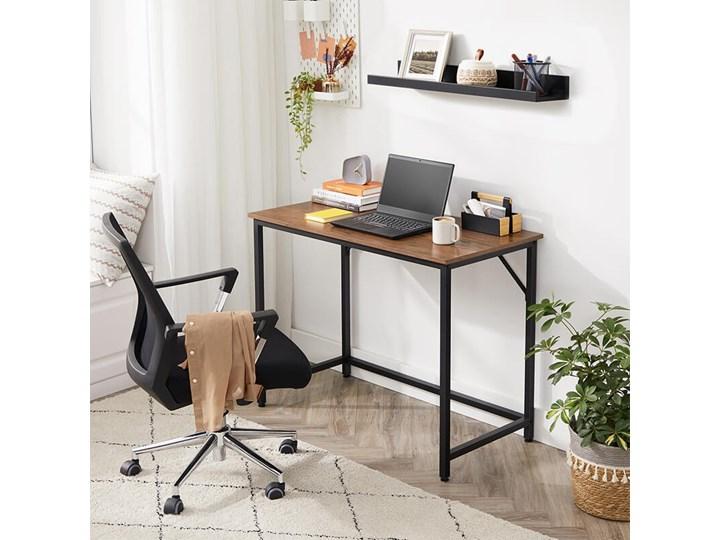 Bettso Eleganckie biurko w stylu industrialnym Szerokość 100 cm Metal Głębokość 50 cm Styl Nowoczesny Drewno Kategoria Biurka