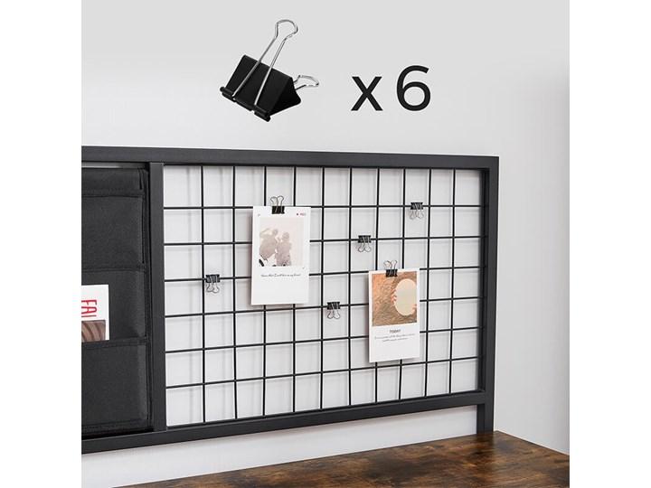 Bettso Industrialne biurko z przybornikiem / Rustic brown Kolor Brązowy Drewno Metal Głębokość 60 cm Kategoria Biurka