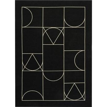 Dywan SIGNET BLACK czarny designerski 160x230 200x300