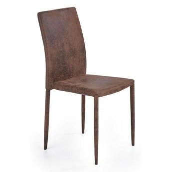 Krzesło K375  ciemny brązowy