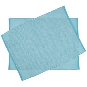 Zestaw podkładek DUKA STOCKHOLM 2 sztuki niebieskie bawełna