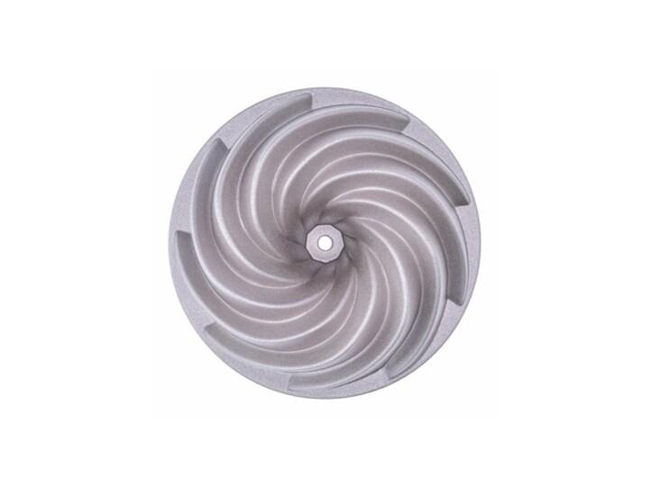 Forma do pieczenia babki spirala DUKA GODIS 10 cm aluminium Kategoria Formy i foremki Do babki Kolor Srebrny