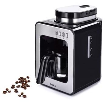 Ekspres do kawy przelewowy z młynkiem DUKA BOJE czarny