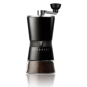 Młynek do kawy ręczny DUKA CAFE czarny stal nierdzewna