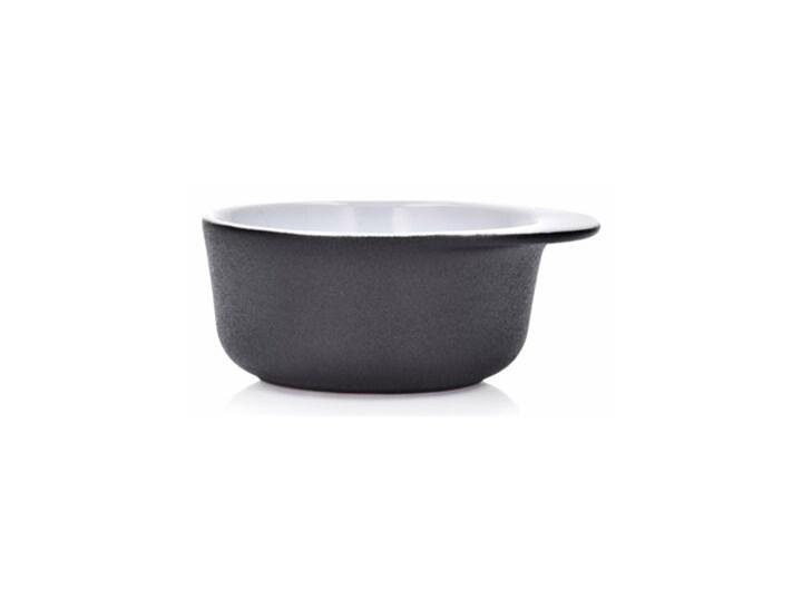 Forma do pieczenia okrągła DUKA HJALMAR 16x14 cm czarna kamionka Kolor Czarny Ceramika Naczynie do zapiekania Kategoria Naczynia do zapiekania