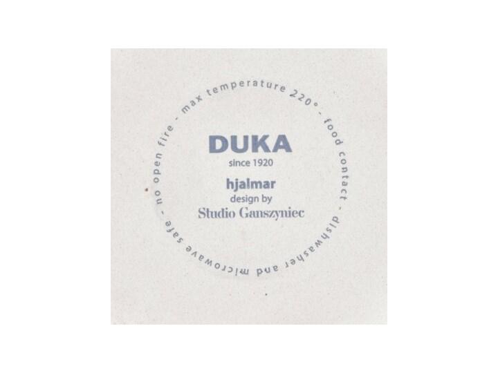Forma do pieczenia okrągła DUKA HJALMAR 16x14 cm czarna kamionka Ceramika Kolor Czarny Naczynie do zapiekania Kategoria Naczynia do zapiekania