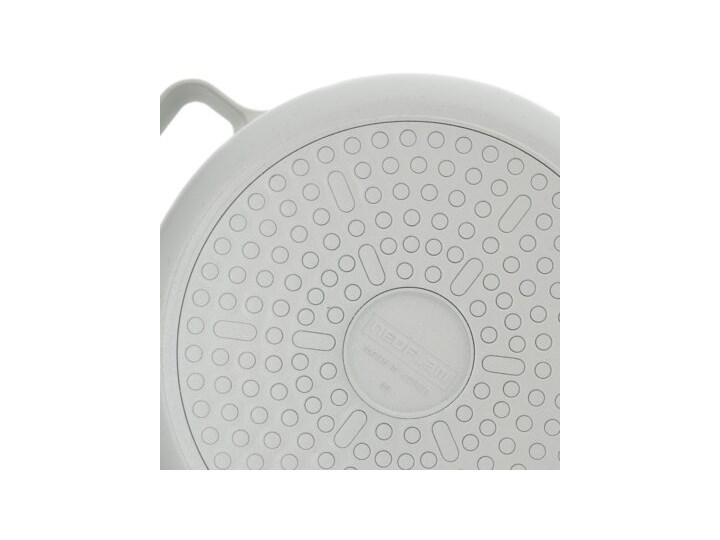 SCANDI GARNEK WYSOKI 22 CM Garnek uniwersalny Średnica 25 cm Aluminium Kolor Beżowy