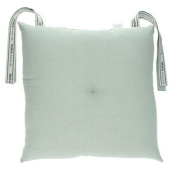 Poduszka na krzesło DUKA ORIGIN 40x40 cm miętowa bawełna