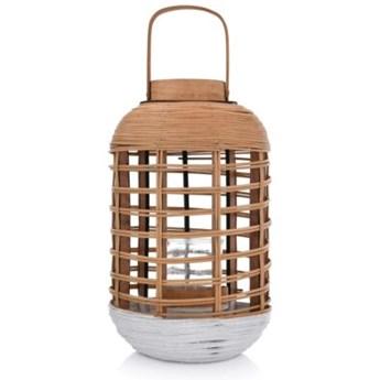 LYKTA LAMPION 24X42 CM NATURALNY