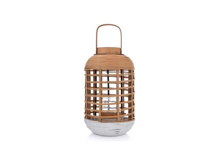 LYKTA LAMPION 24X42 CM NATURALNY Kategoria Świeczniki i świece Kolor Brązowy