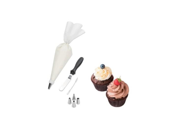 Zestaw do dekorowania ciast i ciastek DUKA GODIS 5 końcówek stal nierdzewna Kategoria Dekoracja wypieków Zestawy do dekoracji Kolor Biały