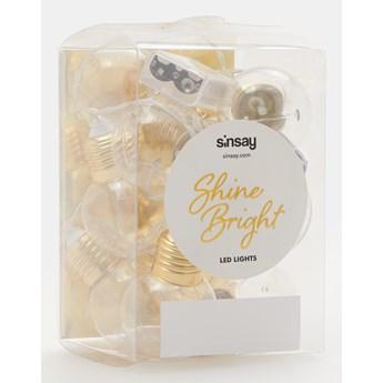 Sinsay - Światełka - Złoty