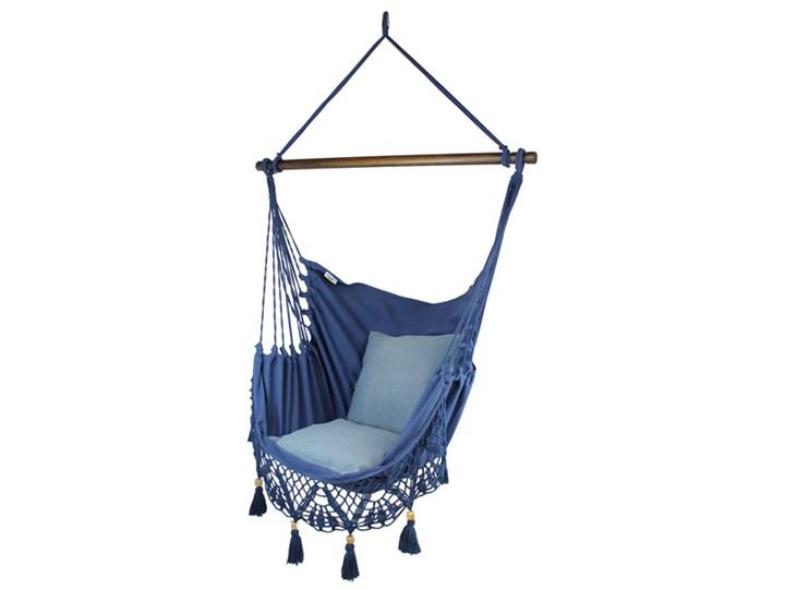 Fotel hamakowy boho, AHC-11 Bawełna Krzesło brazylijskie Drewno Kategoria Hamaki
