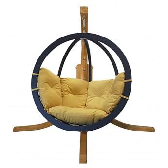 Zestaw: stojak Alicante + fotel Swing Chair Single antracyt, Alicante+Swing Chair Single (7)