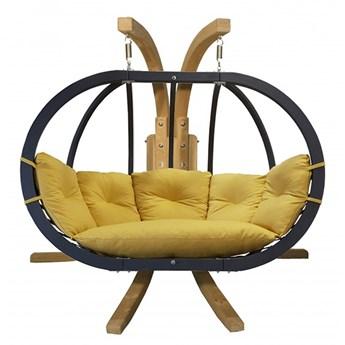 Zestaw: stojak Sintra + fotel Swing Chair Double antracyt, Sintra + Swing Chair Double (4)