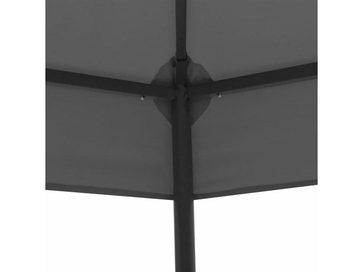 vidaXL Altanka ogrodowa, 323x275x265 cm, antracytowa Kolor Czarny Szerokość 2,75 m Długość 3,23 m Kategoria Altany ogrodowe