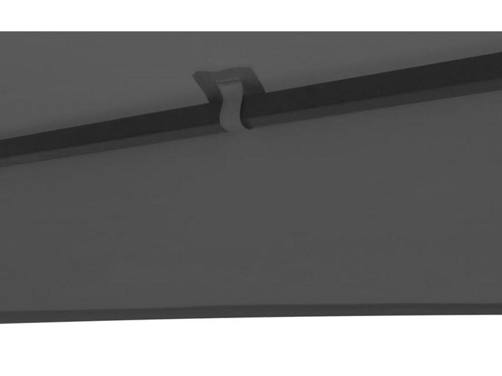 vidaXL Altanka ogrodowa, 323x275x265 cm, antracytowa Szerokość 2,75 m Długość 3,23 m Kolor Czarny Kategoria Altany ogrodowe