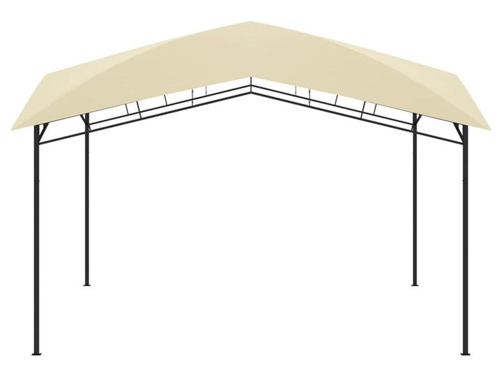 vidaXL Altana ogrodowa, 4x4x2,9 m, kremowa, 180 g/m² Szerokość 4 m Wysokość 290 cm Długość 4 m Kolor Beżowy