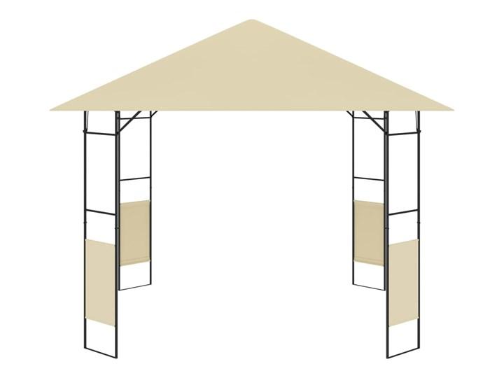 vidaXL Altana ogrodowa, 3 x 3 x 2,6 m, kremowa, 160 g/m² Szerokość 3 m Długość 3 m Wysokość 260 cm Kolor Beżowy
