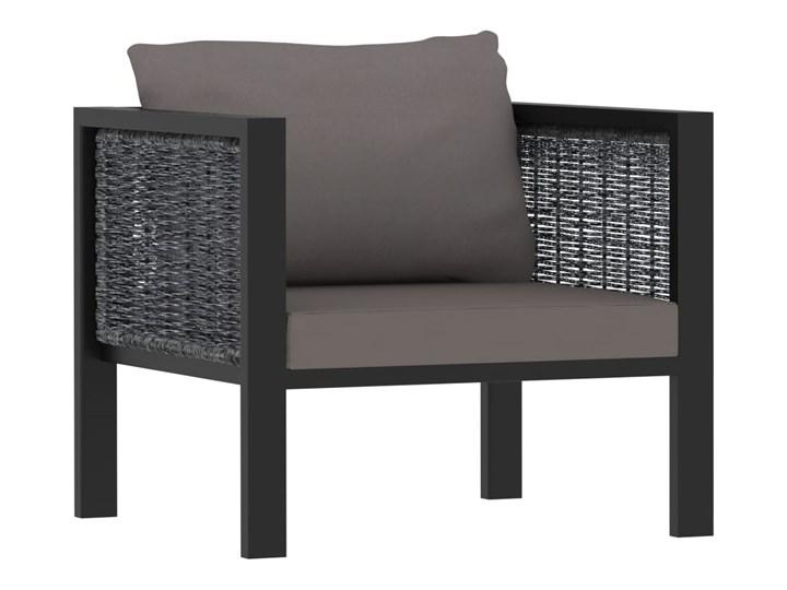 vidaXL 8-cz. zestaw wypoczynkowy do ogrodu, poduszki, rattan PE Zestawy wypoczynkowe Aluminium Zestawy modułowe Tworzywo sztuczne Technorattan Zawartość zestawu Sofa