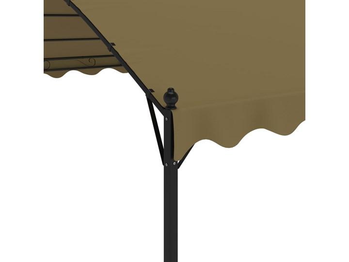 vidaXL Altana, 4x3x2,6 m, kolor taupe, 180 g/m² Kategoria Altany ogrodowe Długość 4 m Szerokość 3 m Wysokość 260 cm Kolor Brązowy
