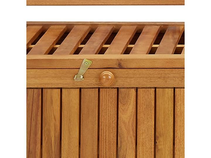 vidaXL Ławka ogrodowa ze schowkiem, 170 cm, lite drewno akacjowe Ze skrzynią Kategoria Ławki ogrodowe