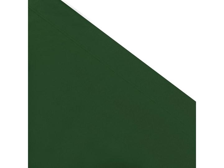 vidaXL Leżak ogrodowy z baldachimem, zielony Z daszkiem Tworzywo sztuczne Metal Kategoria Leżaki ogrodowe