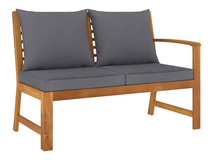 vidaXL 5-cz. zestaw wypoczynkowy do ogrodu, poduszki, drewno akacjowe Tworzywo sztuczne Zestawy modułowe Zestawy kawowe Zestawy wypoczynkowe Styl Nowoczesny Zawartość zestawu Stolik