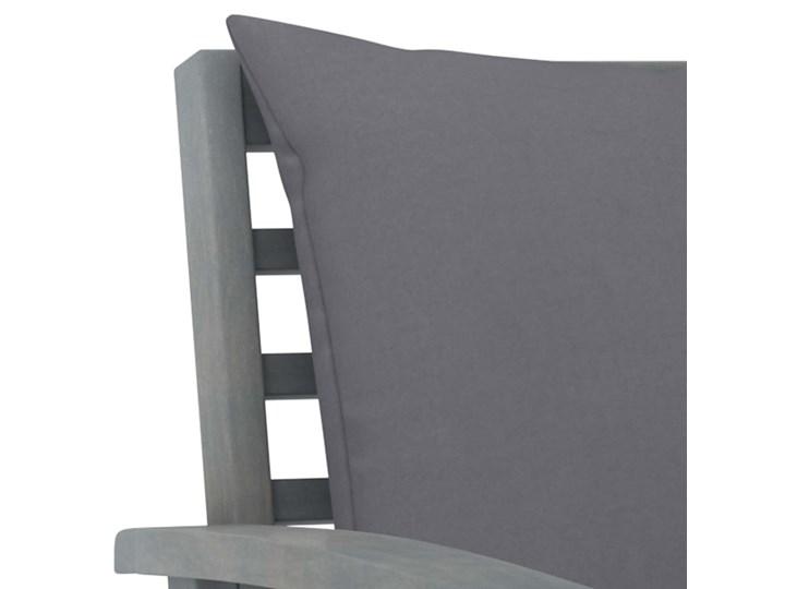 vidaXL 5-cz. zestaw wypoczynkowy do ogrodu, poduszki, drewno akacjowe Tworzywo sztuczne Zestawy kawowe Zestawy modułowe Zestawy wypoczynkowe Kategoria Zestawy mebli ogrodowych