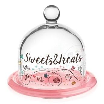 Szklany pojemnik na cytrynę ciasteczka Sweet