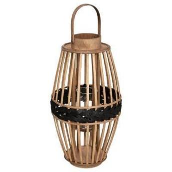 Lampion bambusowy pleciony, Ø 23 cm