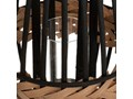 Lampion bambusowy pleciony, Ø 23 cm, beżowy Kategoria Świeczniki i świece