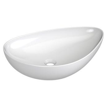 Umywalka nablatowa VENEZIA/NICEA biała