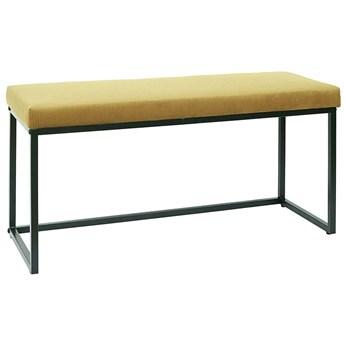 Welwetowa ławka żółta - Midra