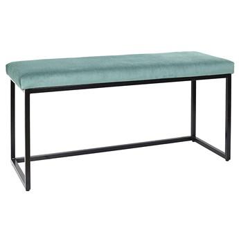 Welwetowa ławka niebieska - Midra