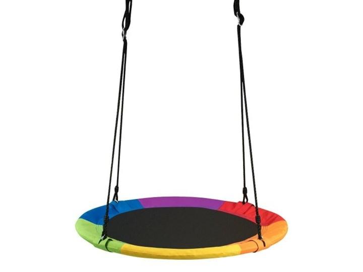 Huśtawka dla dzieci bocianie gniazdo - kolorowa
