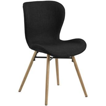 Krzesło Fearon 47x83 cm antracytowe nogi dębo