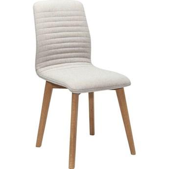 Krzesło Lara 44x92 cm ecru