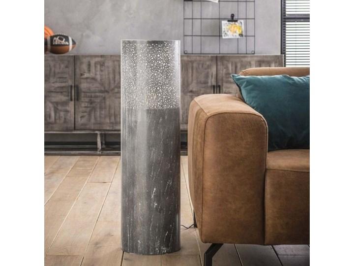 Lampa podłogowa Cylinder Ø25x90 cm szara Kategoria Lampy podłogowe