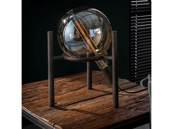 Lampa stołowa Saturn 28x34 cm srebrna Kategoria Lampy stołowe