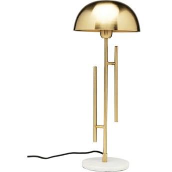 Lampa stołowa Solo Brass 22x55 cm złota