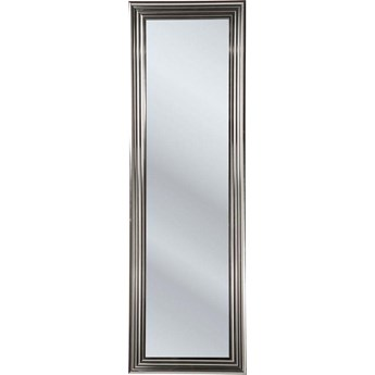 Lustro stojące Frame 180x55 cm srebrne