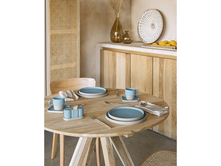 Solniczka i pieprzniczka Midori niebieskie Zestaw do przypraw Ceramika Kategoria Przyprawniki