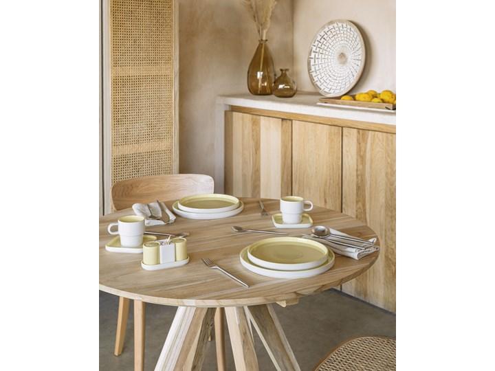 Solniczka i pieprzniczka Midori żółte Zestaw do przypraw Ceramika Kategoria Przyprawniki Kolor Żółty