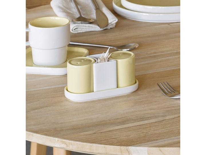 Solniczka i pieprzniczka Midori żółte Kategoria Przyprawniki Zestaw do przypraw Ceramika Kolor Żółty