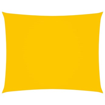 vidaXL Prostokątny żagiel ogrodowy z tkaniny Oxford, 2x3 m, żółty