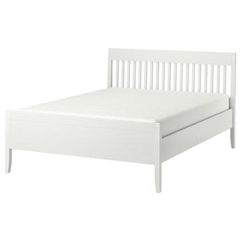 IKEA IDANÄS Rama łóżka, Biały, 140x200 cm