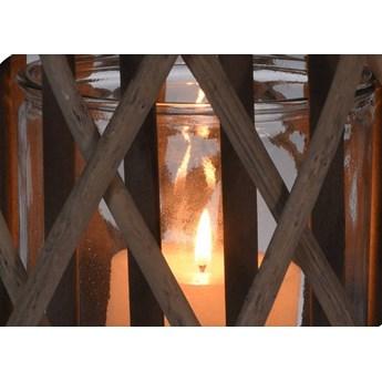 Lampion wiklinowy, Ø 27,5 x 41 cm